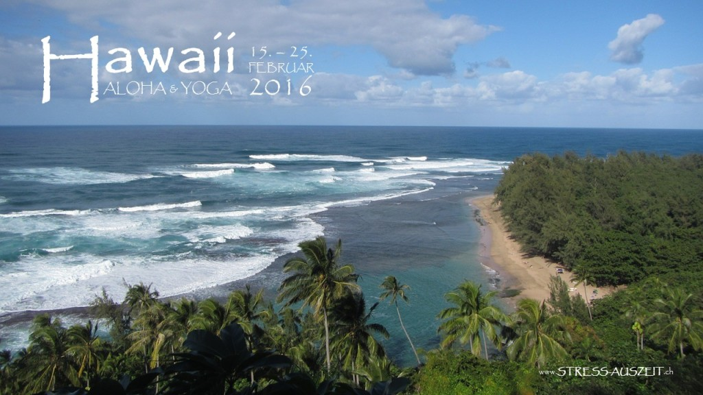 Stress entkommen auf Hawaii