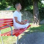 Wenn Sie Stres shaben, hilft es zu meditieren