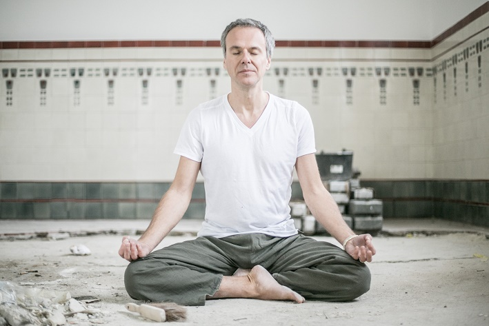 Stress macht krank. Meditation kann helfen