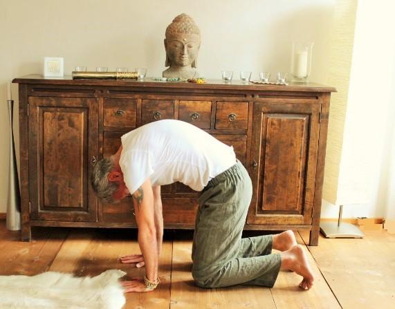 Yoga Asanas bei Stress