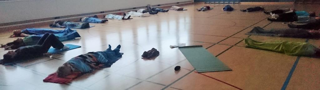 Stress-Seminar mit Yoga