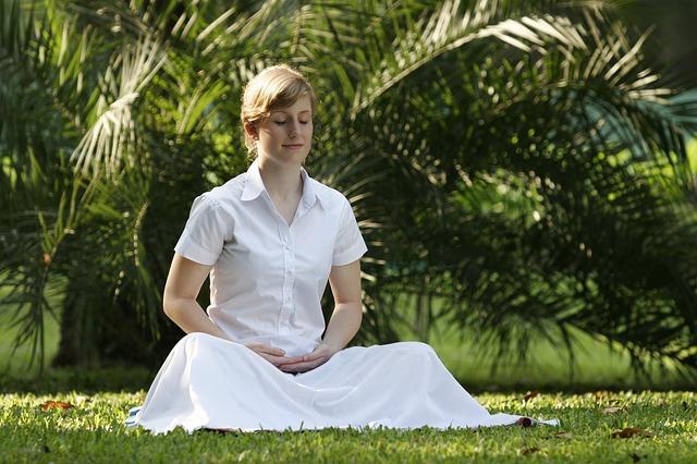 Sitzmeditation ist für den Abbau von Stress ausgesprochen hilfreich